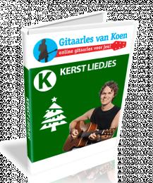 Kerstliedjes Gitaarles van Koen